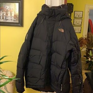 Insulated ski jacket